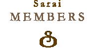 Sarai MEMBERS